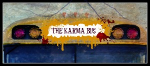 Karma Bus Close Up
