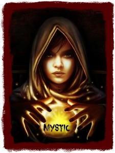 Mystic w crystal ball edit