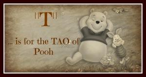 Tao of Pooh framed