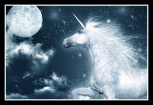Unicorn Framed