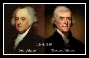 Adams & Jefferson Framed