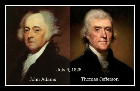 Adams & Jefferson Framed